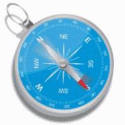 Синий компас